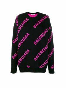 Balenciaga Balenciaga All-over Sweater