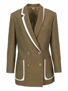 Fendi Silk And Wool Jacket
