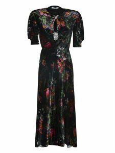 Paco Rabanne Floral Printed Dress