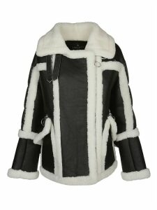 Nicole Benisti Textured Shearling Coat