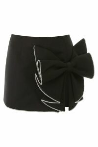AREA Sculpted Bow Skirt