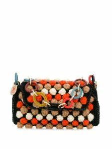 Missoni knitted shoulder bag - Black
