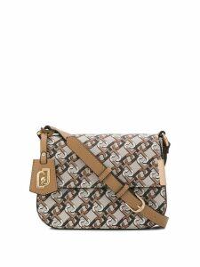 LIU JO logo print crossbody bag - Brown