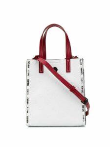 Kenzo small Blink multi-eye tote bag - White