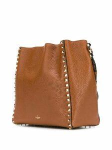 Valentino Valentino Garavani Rockstud bucket bag - Brown