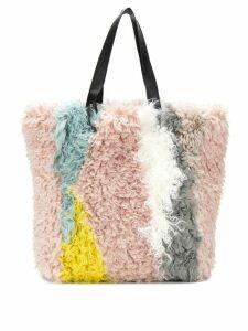 Urbancode textured tote bag - Pink