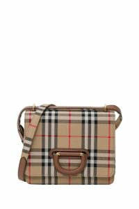 Burberry Small Vintage Check D-ring Bag