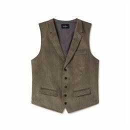 Hackett Stretch Cotton Corduroy Waistcoat