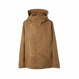 Burberry Detachable Panel Detail Hooded Jacket