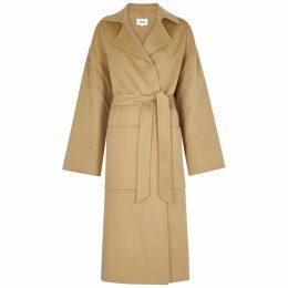 Nanushka Alamo Camel Wool-blend Coat