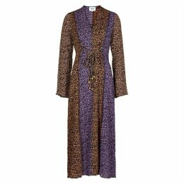 Nanushka Kamil Printed Panelled Maxi Dress