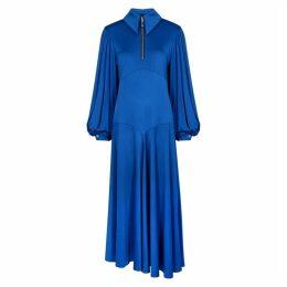 Ellery Palo Alto Blue Satin-jersey Dress