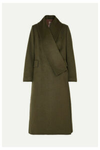 Golden Goose - Kigiku Wool-blend Coat - Green