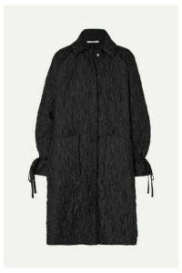 Cecilie Bahnsen - Trisha Oversized Quilted Cloqué Coat - Black