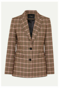 Maje - Valilo Checked Tweed Blazer - Ecru