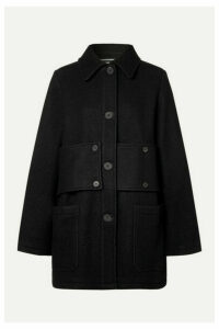 McQ Alexander McQueen - Paneled Wool-felt Coat - Black