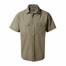 Kiwi Short Sleeved Shirt Pebble
