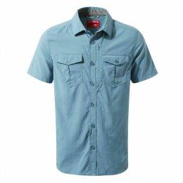 NosiLife Adventure Short Sleeved Shirt Smoke Blue