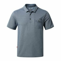 NosiLife Gilles Short Sleeved Polo Night Blue Marl