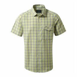Warby Short Sleeved Shirt Soft Khaki Combo