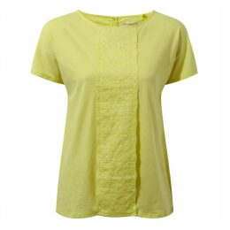 Connie Short Sleeved Top Limeade