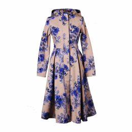 DANEH - Metallic Front Pleated Dress
