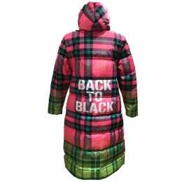 Klements - Netil Wrap Dress Cursed Civilisation Print
