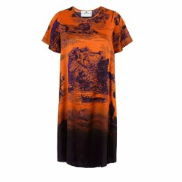 Klements - Frieda Dress In Doomed Voyage Print Pumpkin