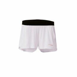 Libelula - Long Millie Dress Blue & Purple Geotri Print
