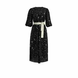 Klements - Netil Dress In Volcano & Magma Print