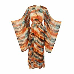 IN. NO - Purple Opera Tulle Layered Sweater