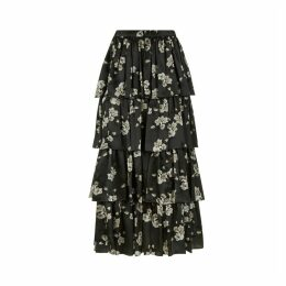 PHOEBE GRACE - Grey Rose Charlie Skirt