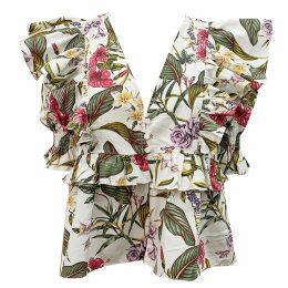 MATSOUR'I - Jacquard Dress Alyzee Blue