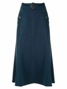 Nk Pistol Cherry midi skirt - Blue
