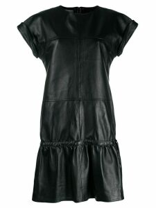 Alberta Ferretti panel flared mini dress - Black