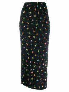 Essentiel Antwerp floral print tube skirt - Black