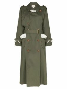 Rentrayage Weekend in Sandringham trenchcoat - Green
