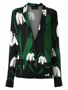 Adriana Degreas floral print blazer - Multicolour