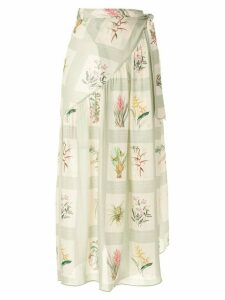 Adriana Degreas printed beach skirt - Multicolour