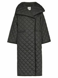 Toteme Annecy quilted coat - Black