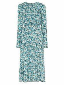 ROTATE open back midi dress - Blue