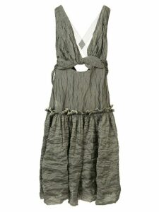 Kitx Mineral cut-out dress - Grey