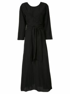 Muller Of Yoshiokubo Cache Couer long dress - Black