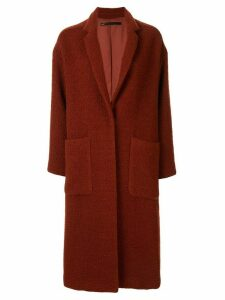 Muller Of Yoshiokubo single breasted coat - Red