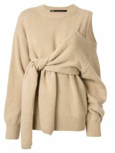 Muller Of Yoshiokubo Connect knit jumper - Neutrals