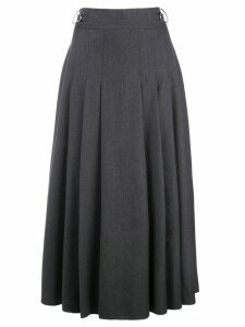 Gabriela Hearst pleated midi skirt - Grey