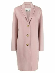 Acne Studios VIP Avalon single breasted coat - Pink