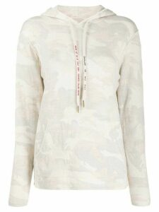 Zadig & Voltaire Nea camouflage patterned hoodie - Neutrals