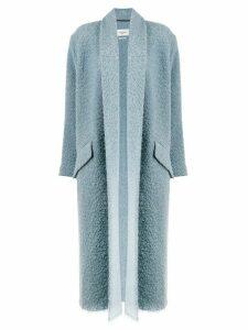 Isabel Marant Étoile belted long sleeved coat - Blue