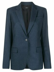 Theory single breasted blazer - Blue